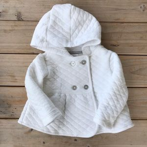 Carter's Quilted Jacket/Sweater - Size 12 months